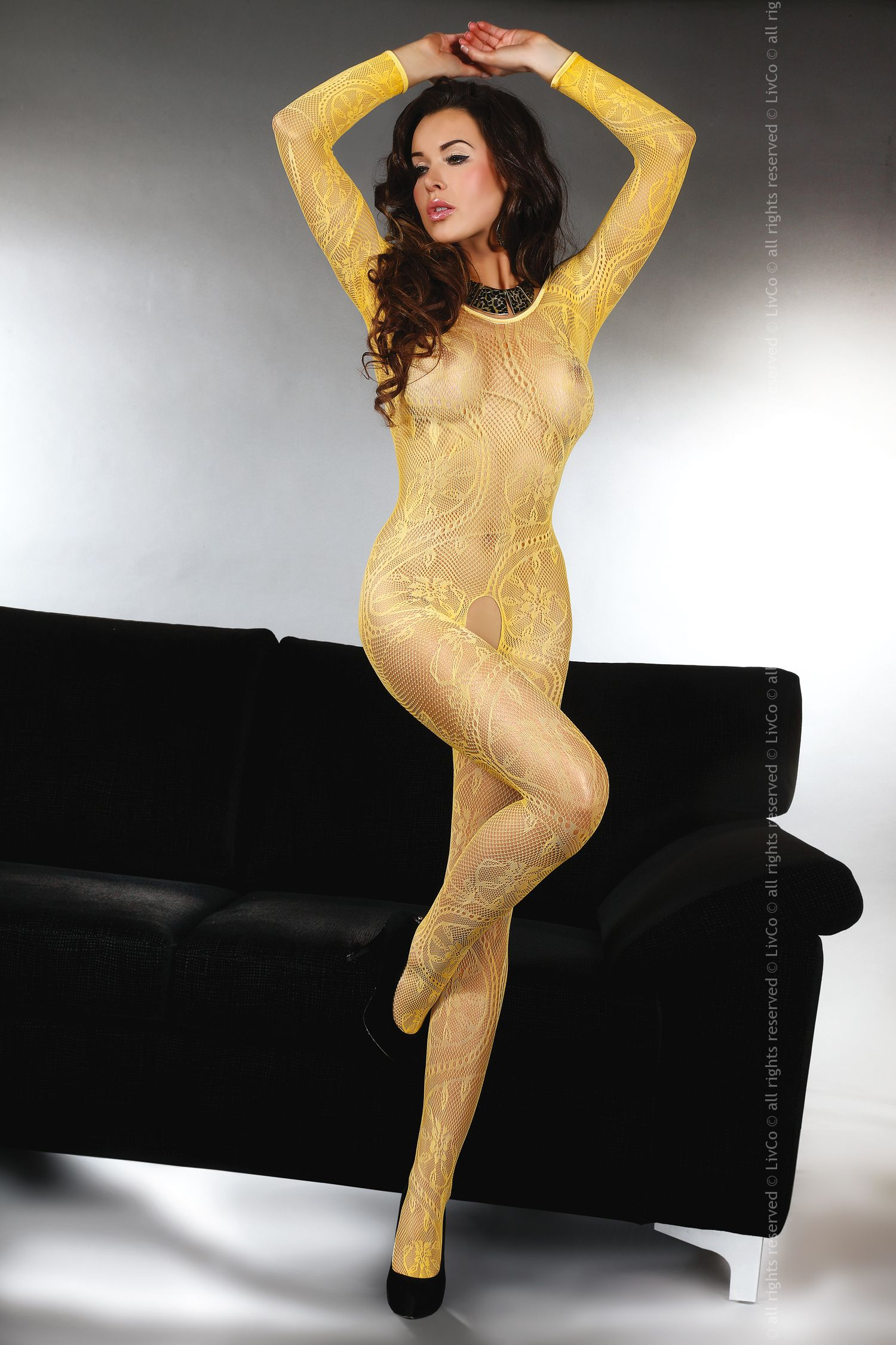 Bodystocking Abra honey