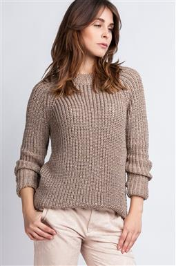 Sweter Kriss SWE 076 mocca